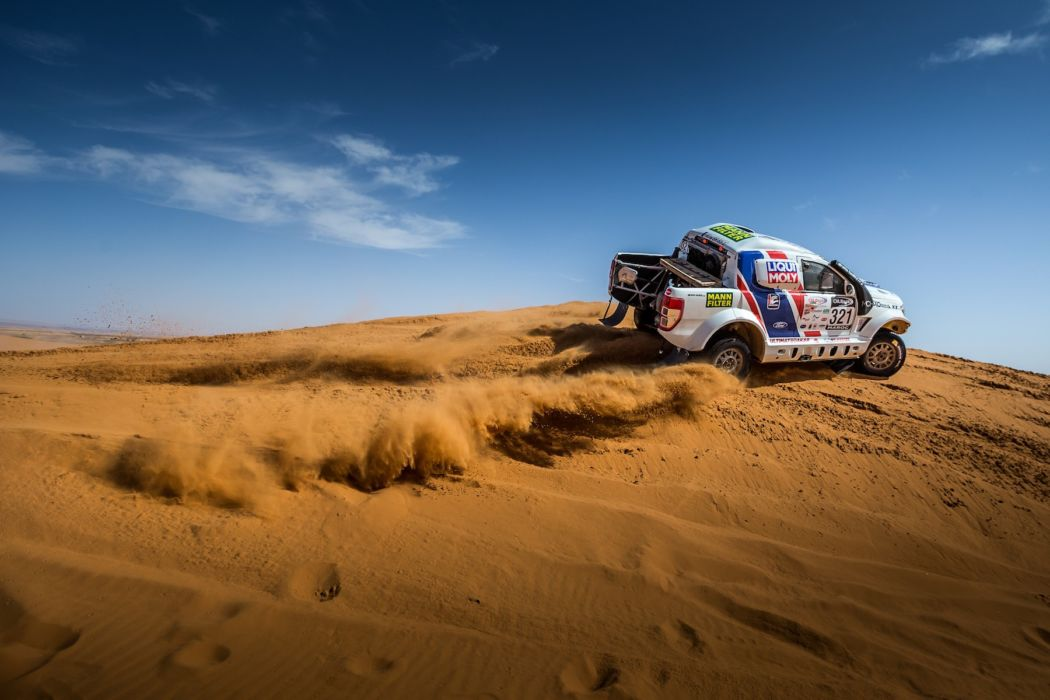 Health problems forced Buggyra Ultimate Dakar out of Morocco Rally