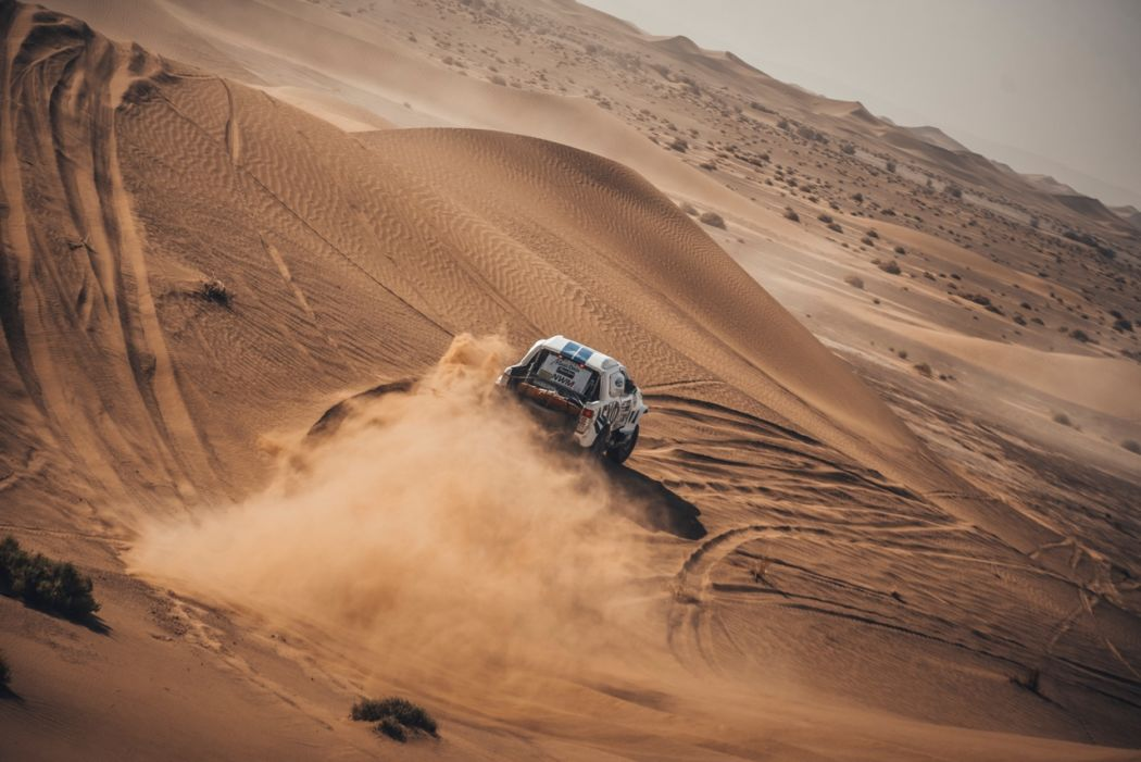 Successful day in the dunes for Ourednicek and Kripal